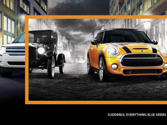 Mini Print Ad -  Automobile