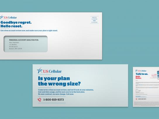 US Cellular Direct Ad -  Mini Letter