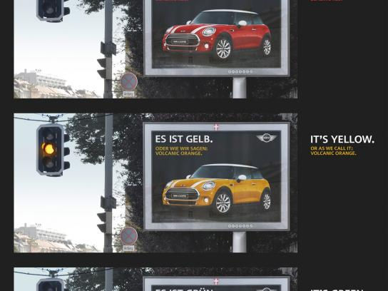 Mini Outdoor Ad -  Traffic lights
