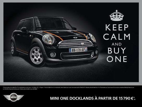 Mini Print Ad -  Keep calm