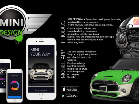 Mini Cooper Digital Ad - Design