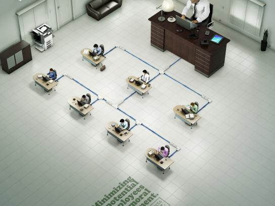 Ministério Público do Trabalho Print Ad -  Organograms, 3