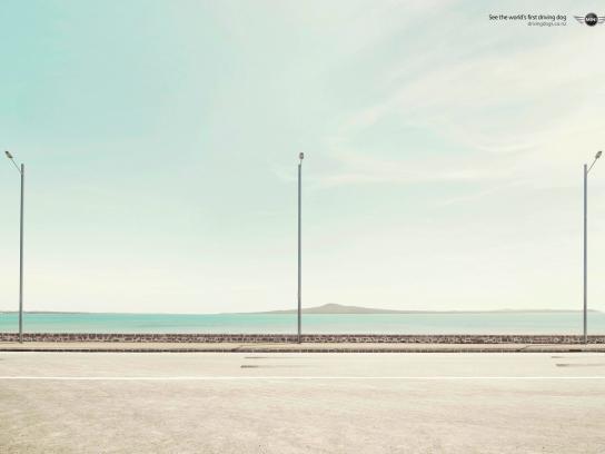 Mini Print Ad -  Lamp post