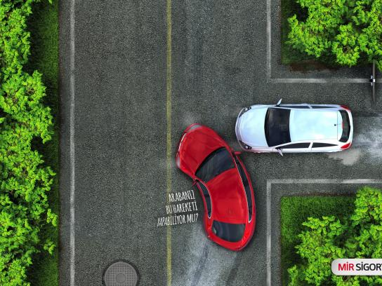 Mir Insurance Outdoor Ad - Crash, 1