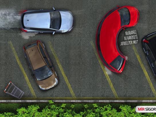 Mir Insurance Outdoor Ad - Crash, 2