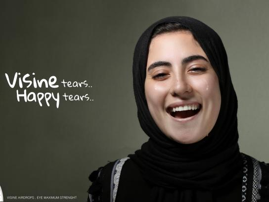 Visine Print Ad - Happy Tears - Mirna