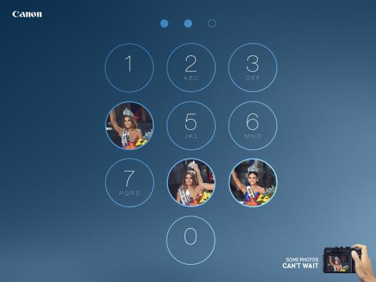 Canon Print Ad - Miss Universe