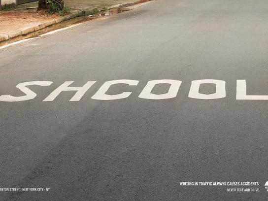 Mitsubishi Outdoor Ad - Shcool