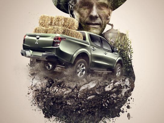 Mitsubishi Print Ad - Farming