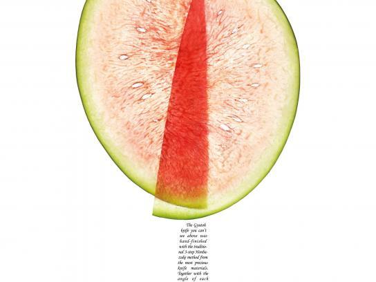 Miyabi Print Ad -  Watermelon