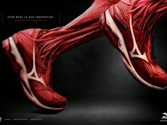 Mizuno Print Ad -  Muscle, 2