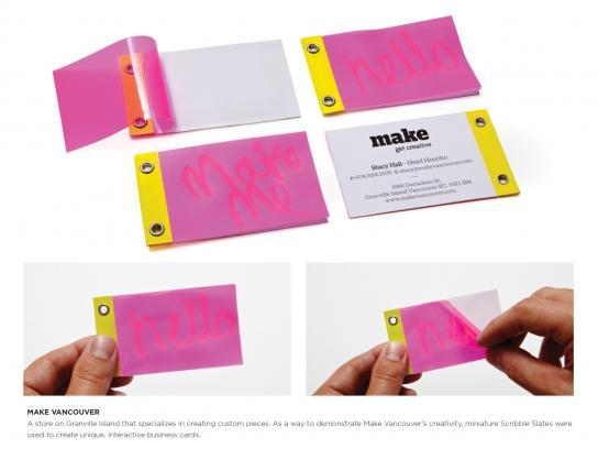 Make Vancouver Direct Ad -  Scribble slate