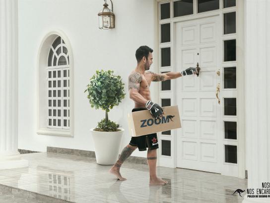 Zoom Print Ad -  MMA
