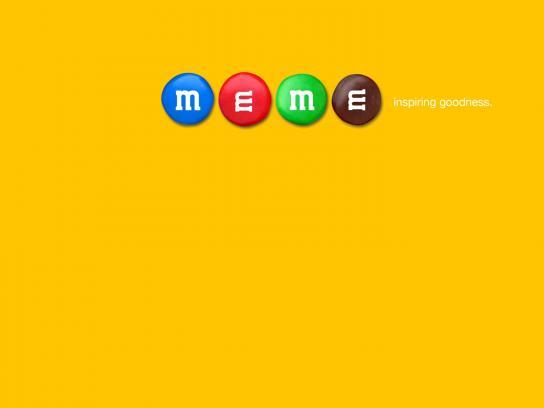 M&M's Print Ad -  Meme