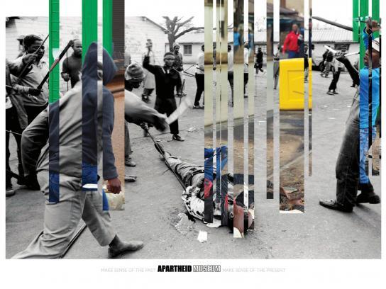 Apartheid Museum Print Ad -  Mob