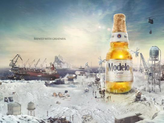 Modelo Print Ad - Modelo Especial - Frost