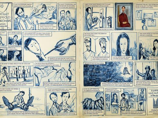 MASP Print Ad -  Modigliani