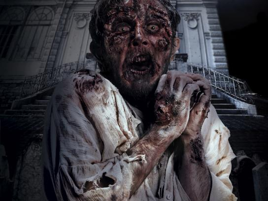 Mall of Istanbul Print Ad - Zombie