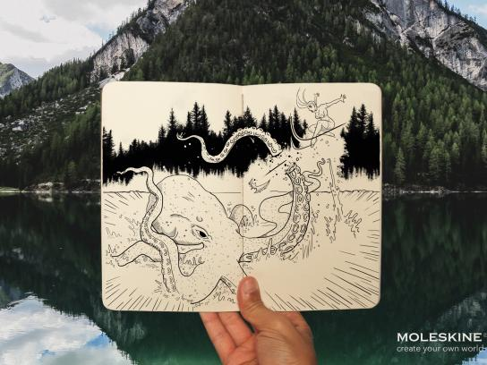 Moleskine Print Ad - Imagine, 1