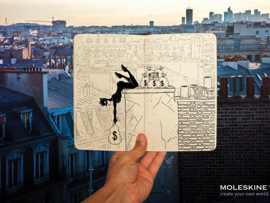 Moleskine Print Ad - Imagine, 2