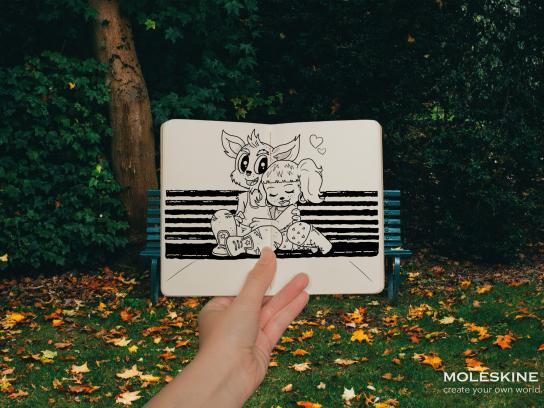 Moleskine Print Ad - Imagine, 3