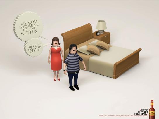 Fuego Azteca Print Ad -  Mom