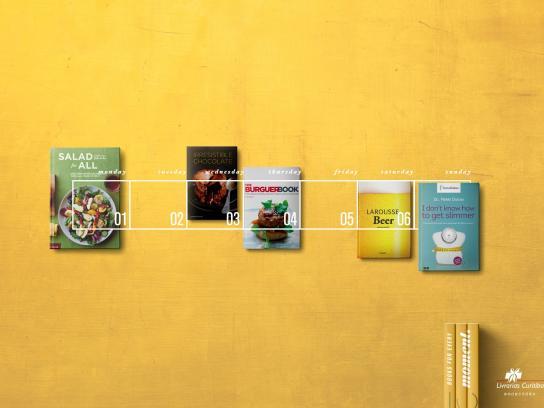Livrarias Curitiba Print Ad -  Week