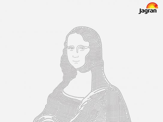 Jagran Prakashan Print Ad - Mona Lisa