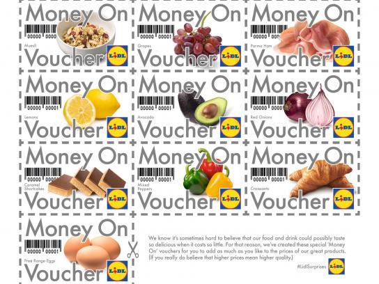 Lidl Print Ad -  Money On