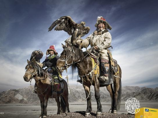 Correios Print Ad -  Mongolia