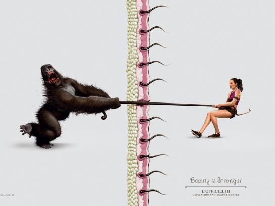 L'Officiel III Print Ad -  Gorilla