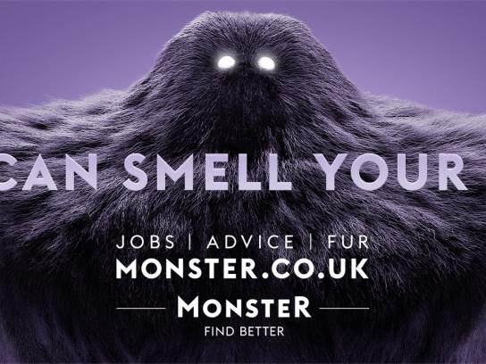 Monster Outdoor Ad - Smell