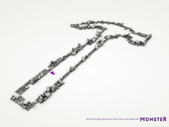Monster Print Ad -  Hammer