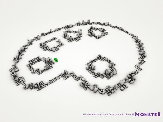 Monster Print Ad -  Palette