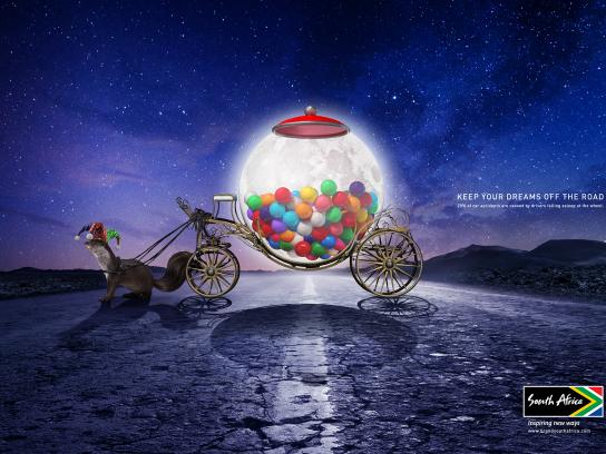 Brand South Africa Print Ad - Moon