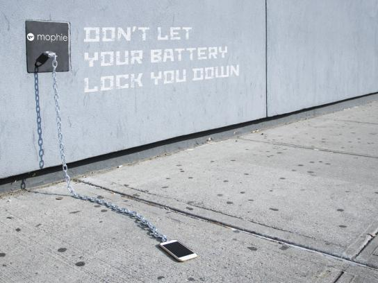 mophie Outdoor Ad - Take Charge, 2