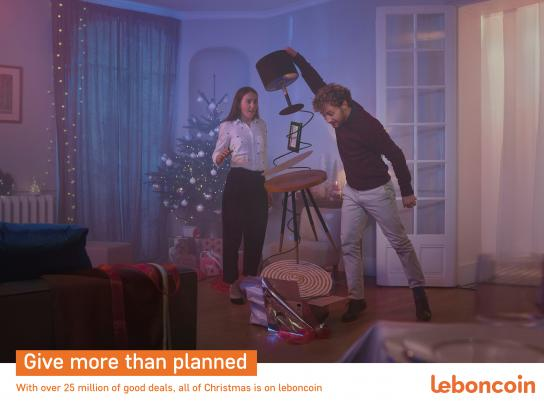 Leboncoin Print Ad - More Than Planned - The Couple