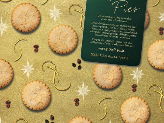 Morrisons Direct Ad -  Mince pies
