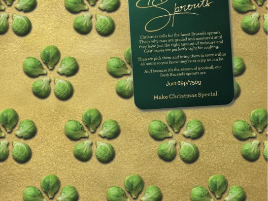 Morrisons Direct Ad -  Sprouts