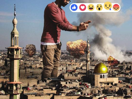 Arab Reaction to their Brothers in Syria Digital Ad - Selfie or Selfish, 2