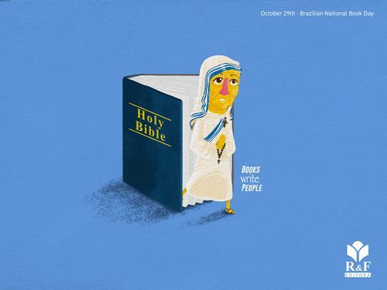 R&F Editora Print Ad - Mother Teresa