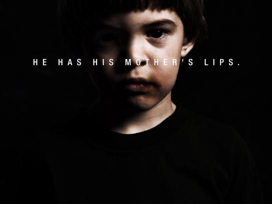 Amnesty International Print Ad -  Lips