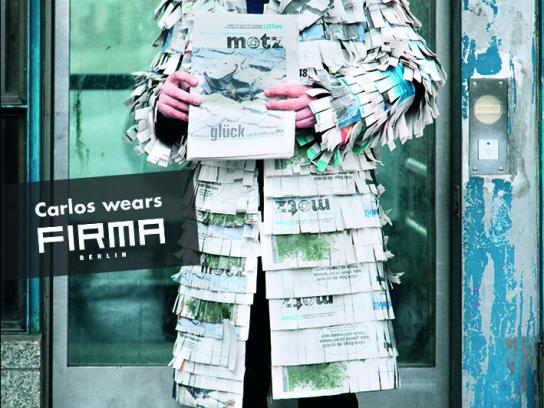 Motz Ambient Ad -  Firma