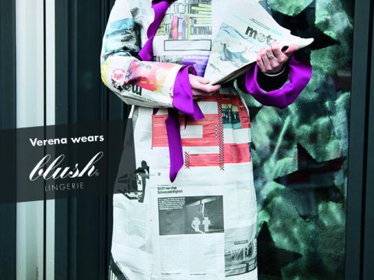 Motz Ambient Ad -  Blush Lingerie