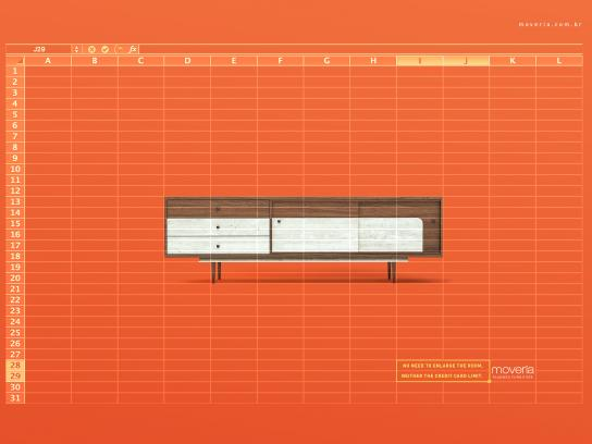 Moveria Print Ad - Planned Furniture - Excel
