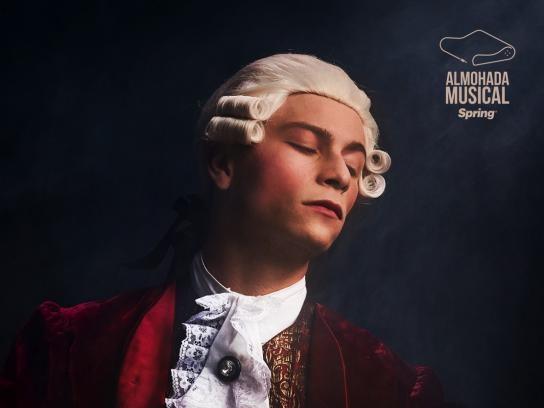 Spring Print Ad - Mozart