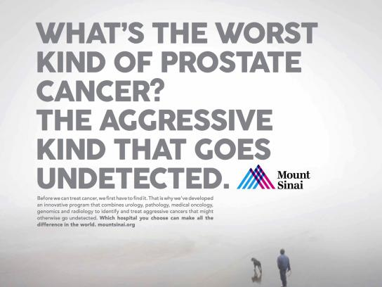 Mount Sinai Print Ad - Undetected
