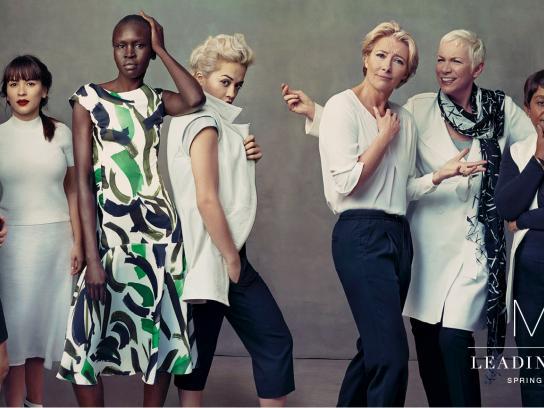 M&S Outdoor Ad -  Leading ladies
