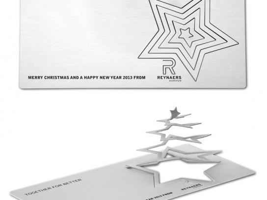 Reynaers Aluminium Direct Ad -  Christmas Card
