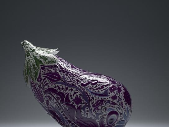 MSA Culinary Arts Academy Print Ad -  Eggplant